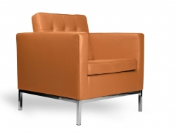 Image of the design furniture Knoll Lounge Chair - Caramel