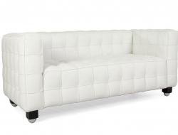Image of the design furniture Kubus Sofa 2 Seater - White