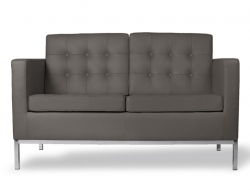 Image of the design furniture Launch Knoll 2 Seater - Grey