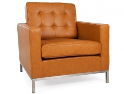 Image of the design furniture Lounge Chair Knoll - Caramel