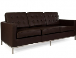 Image of the design furniture Lounge Knoll 3 Seater - Brown