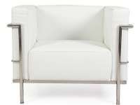 Image of the design furniture LC3 Chair Large Le Corbusier - White