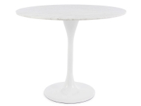 Image of the design furniture Tulip Table Saarinen and 4 chairs