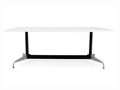 Image of the design furniture Eames Contract table - White