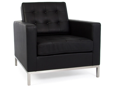 Image of the design furniture Lounge Chair Knoll - Black