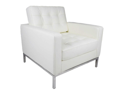 Image of the design furniture Lounge Chair Knoll - White