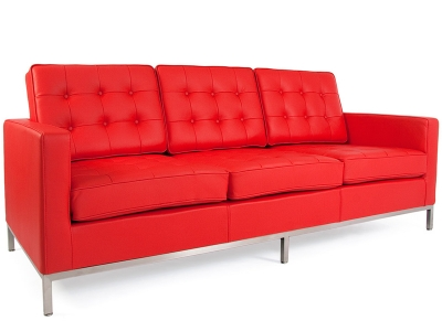 Image of the design furniture Lounge Knoll 3 Seater - Red