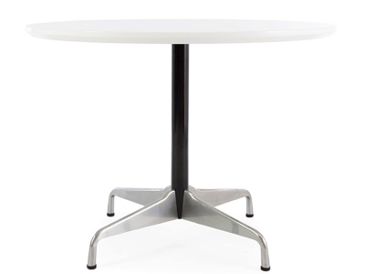 Image of the design furniture Round table Eames Contract - White