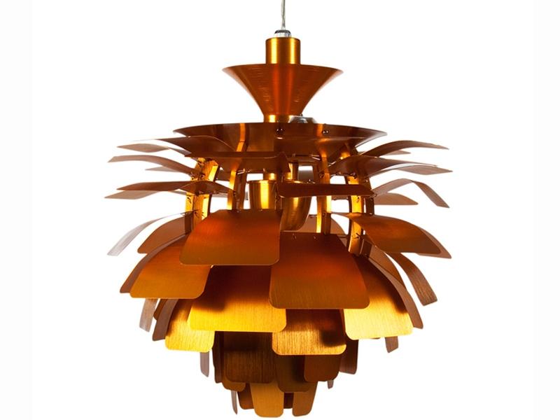 Image of the design lamp Hanging lamp Artichoke M - Gold