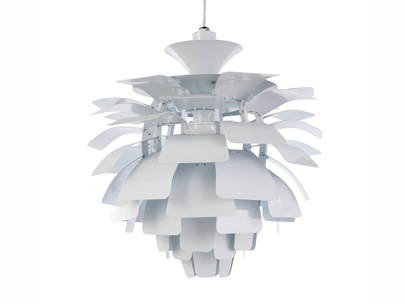 Image of the design lamp Hanging lamp Artichoke S - White