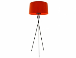 Image of the design lamp Floor lamp Tripoe G5 - Red