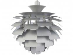 Image of the design lamp Hanging lamp Artichoke L - Silver