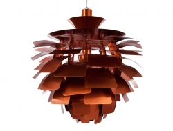 Image of the design lamp Hanging lamp Artichoke S - Copper