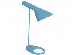 Image of the design lamp Table Lamp  AJ Original - Blue