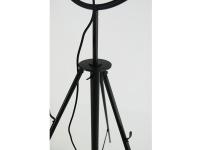 Image of the design lamp Floor lamp Fortuny - Black
