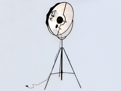 Image of the design lamp Floor lamp Fortuny - Black