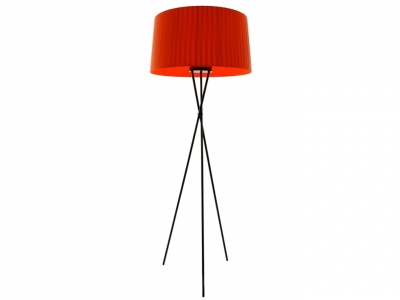 Image of the design lamp Floor lamp Tripoe G5 - Red