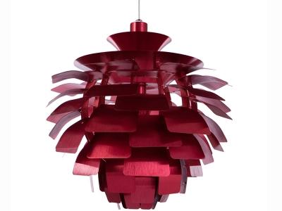 Image of the design lamp Hanging lamp Artichoke M - Red