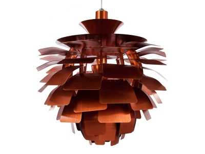 Image of the design lamp Hanging lamp Artichoke S - Copper