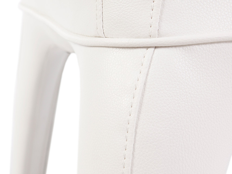 Image of the design lounge Arm Chair Henry - Upholstered White