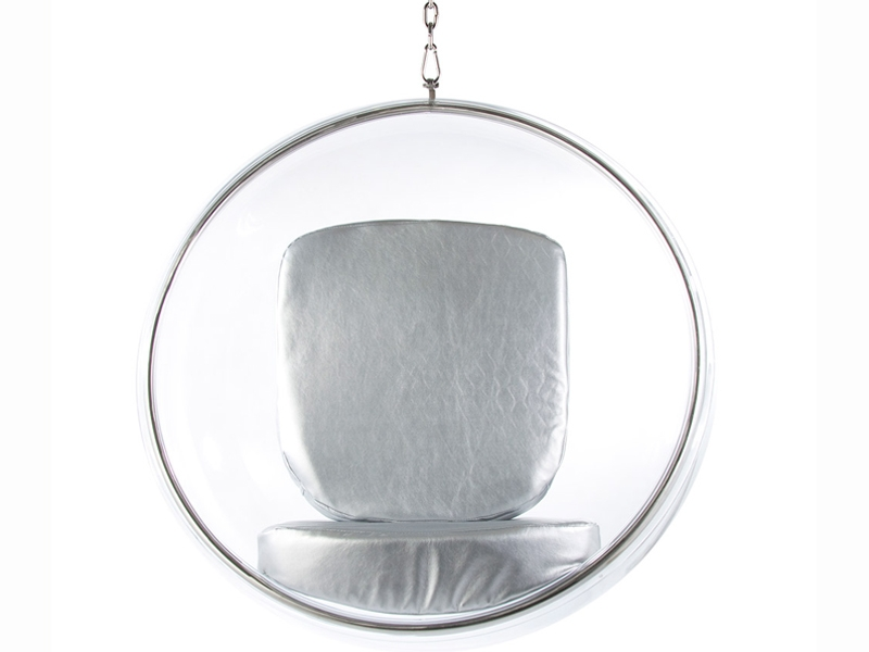 Image of the design lounge Bubble Chair Eero Aarnio - Silver