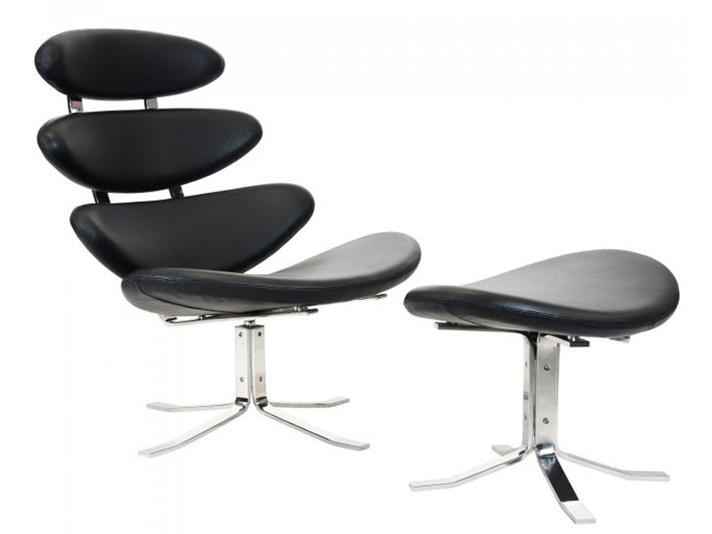 Corona chair pk black for Famous chairs