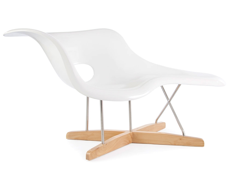 eames la chaise white. Black Bedroom Furniture Sets. Home Design Ideas