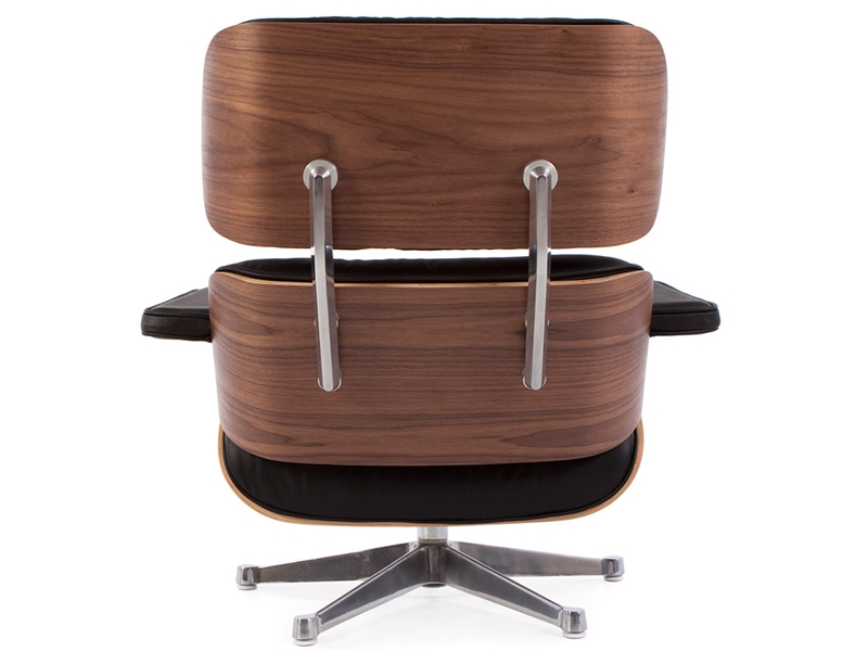 Image of the design lounge Eames Lounge chair - Walnut