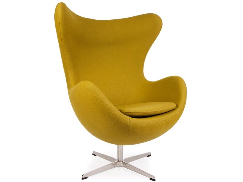 egg chair aj olive green. Black Bedroom Furniture Sets. Home Design Ideas