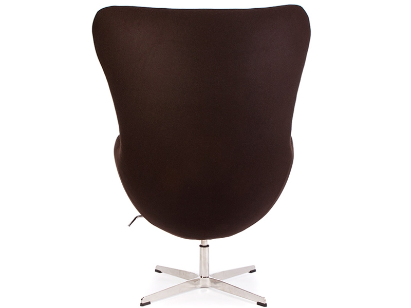 Image of the design lounge Egg Chair Arne Jacobsen - Brown