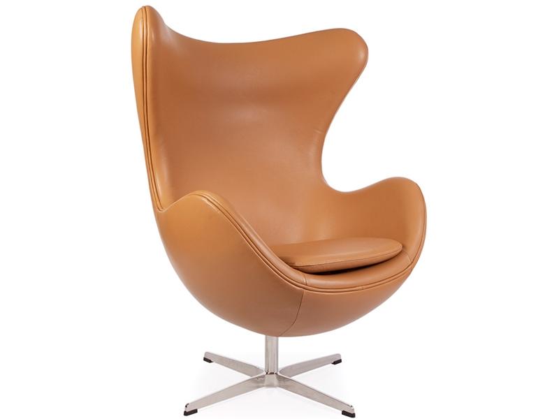 egg chair arne jacobsen caramel. Black Bedroom Furniture Sets. Home Design Ideas