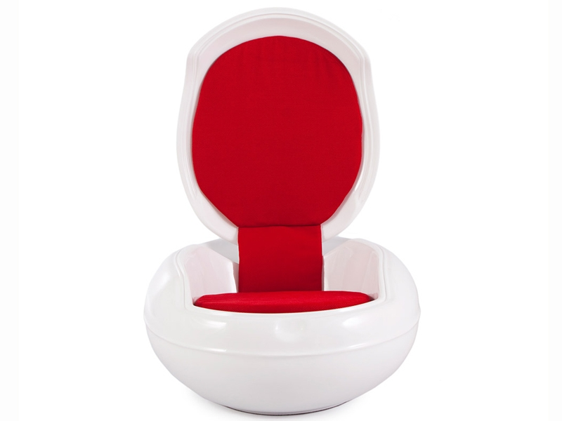 Garden Egg Chair Red