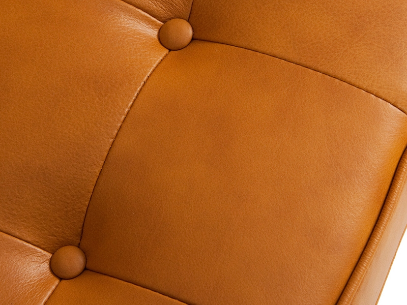 Image of the design lounge Knoll Lounge Chair - Caramel