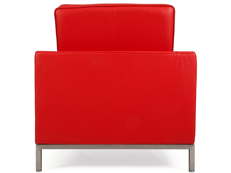 Image of the design lounge Knoll Lounge Chair - Red