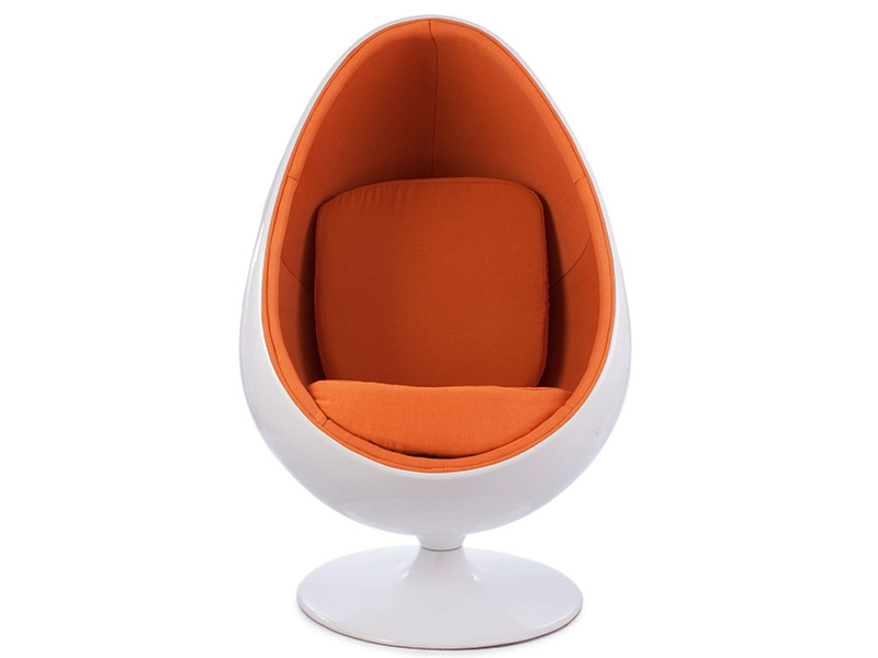 Ovale Egg Chair Orange