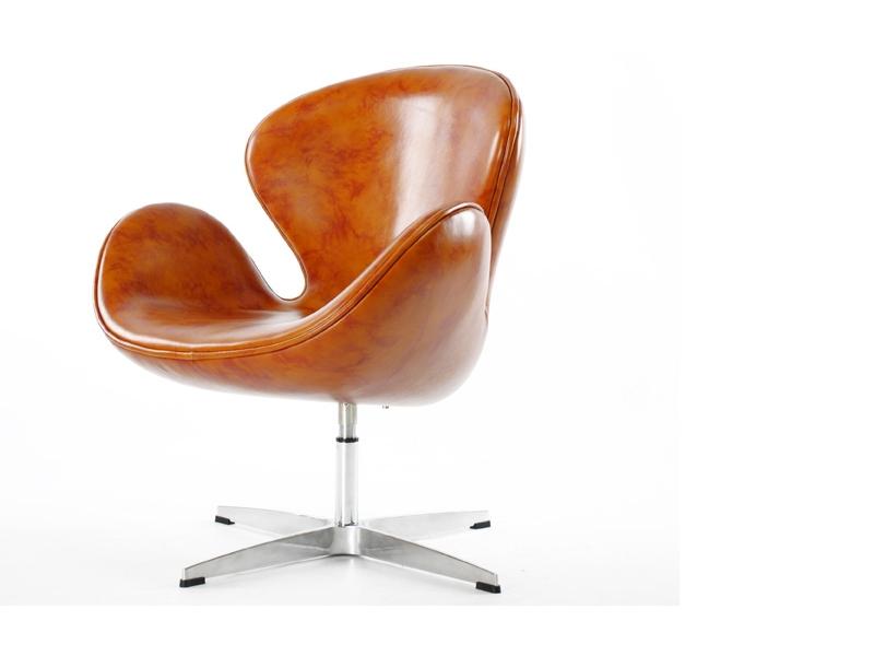 Swan chair arne jacobsen brown - Fauteuil swan arne jacobsen ...