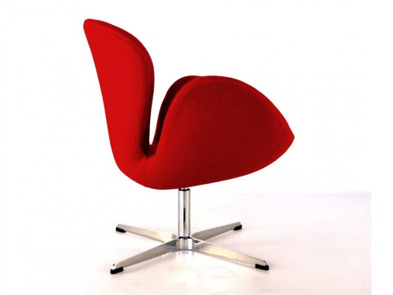 Swan chair arne jacobsen red - Fauteuil swan arne jacobsen ...