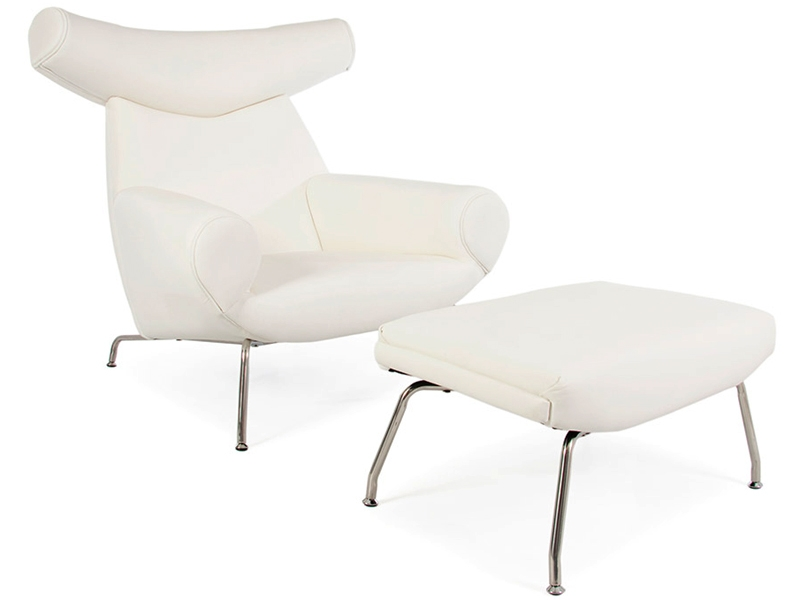 wegner ox chair white. Black Bedroom Furniture Sets. Home Design Ideas