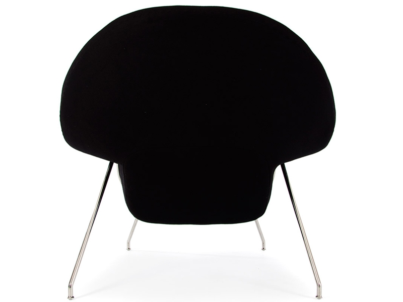 Image of the design lounge Womb chair - Black
