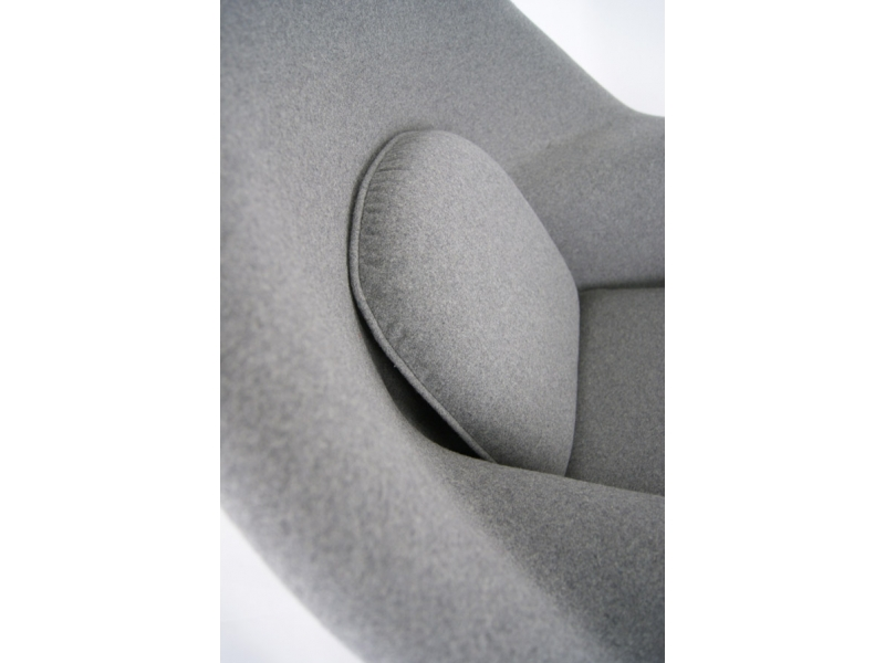 Image of the design lounge Womb chair - Grey