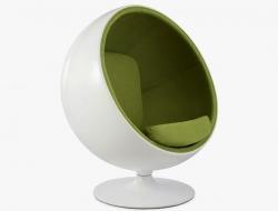 Image of the design lounge Ball chair Eero Aarnio - Green