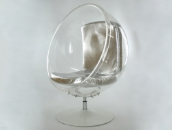 Image of the design lounge Ball Chair Eero Aarnio - Silver