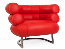 Image of the design lounge Bibendum Armchair - Red