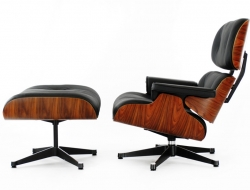 Image of the design lounge Eames Lounge chair - Rosewood
