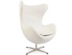 Image of the design lounge Egg Chair - White