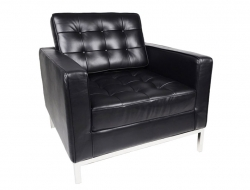 Image of the design lounge Knoll Lounge Chair - Black
