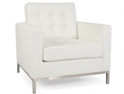 Image of the design lounge Knoll Lounge Chair - White
