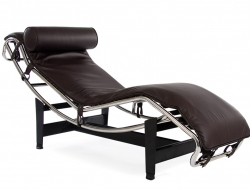 Image of the design lounge LC4 Daybed - Brown