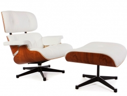 Image of the design lounge Premium  Eames Lounge chair - Rosewood