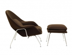 Image of the design lounge Womb chair - Brown